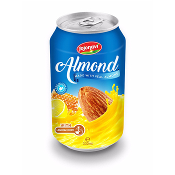 330ml Canned Almond Drink With Lemon And Honey JOJONAVI beverage brands