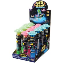 FLASHING UFO TOP W/CANDY/12-PC #CA473