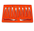 GM DENTAL EXTRACTION FORCEPS English Pattern Upper Central and Canines Dentist Tools