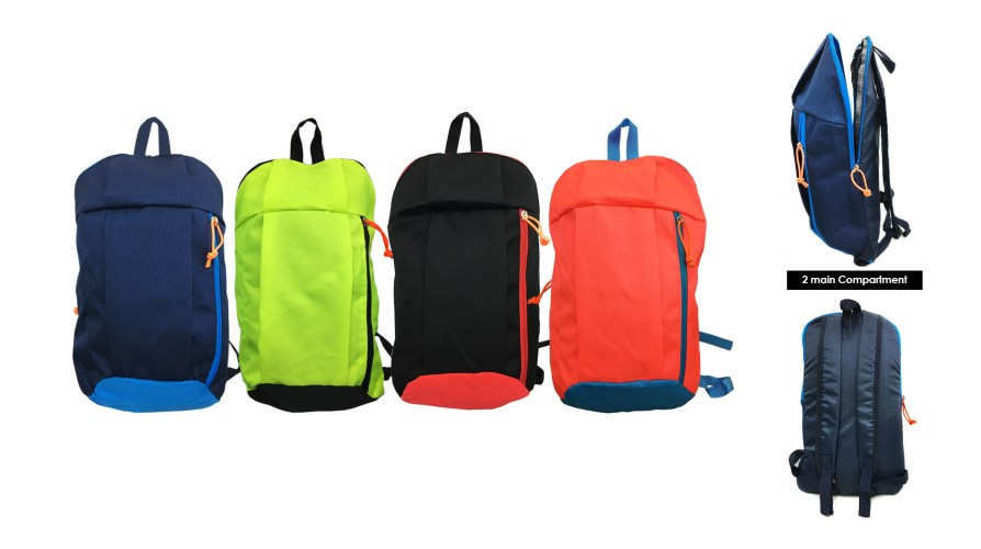 10T11 Backpack with custom logo printing (knapsack, rucksack,school bag, book bag,haversack)
