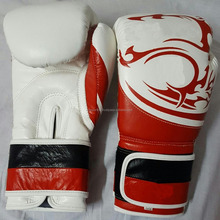 Multi functional Custom Printed Boxing Gloves For Sale New Boxing Gloves, focus and kick pads In Real Cowhide Leather UK