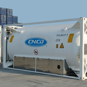 20ft/40ft ISO Tank Container For Industrial Oil LOX/LIN/Lar/LCo2/LNG
