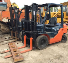 The latest model 8FD30 TOYOTA diesel forklift 3ton for sale, used toyota diesel forklift 3ton 7FD30, 6FD30 for sale