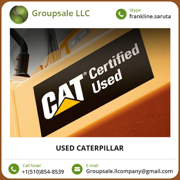 Used Caterpillar Excavator/ Used Caterpillar Bulldozer Available at Affordable Price