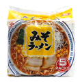japan foods / high quality Delicious Japanese Miso Ramen Noodles x 5 servings