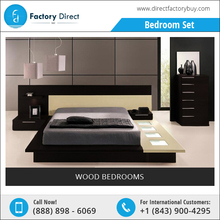Modern Bedroom with Stylish, Functional and Affordable Modern Platform Bed