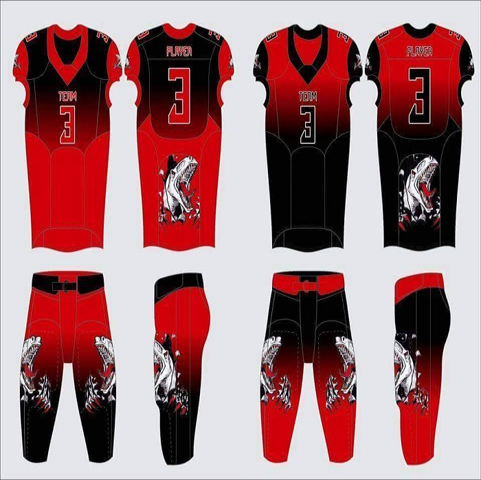 American football uniforms/Sublimated American Football uniforms