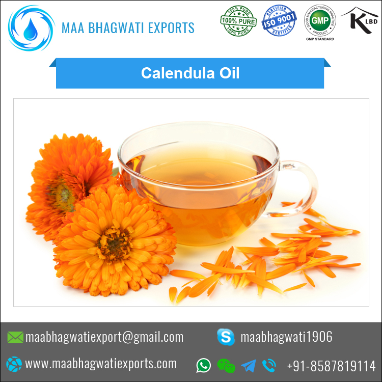 Pure Calendula Essential Oil for Bulk Purchase