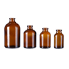 5ml - 100ml amber glass bottle/amber pharmaceutical glass bottle/amber tubular glass vials