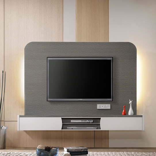 Living Room Modern Furniture Design Mounted LCD LED TV Cabinet