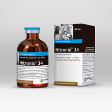 Nitronix 34 - Nitroxynil (Injectable) veterinary use - deworming - antiparasitic