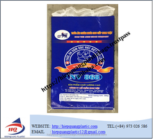 Hot sale bopp laminated pp woven packaging bags for millet,rice,food,fertilizer,seed
