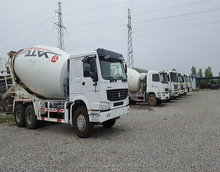 Used/second hand Sinotruck Howo Concrete Mixer Truck For Sale