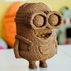 Eco-friendly 3D Despicable cartoon Me stuffed toy custom kids Laser Cut 3D Puzzle