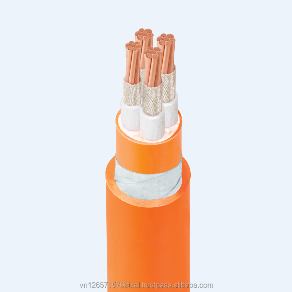 Low Smoke Zero Halogen fire resistant cable - 0.6/1kV - DSTA Amour - Size 4x35mm2 - Thipha Cables