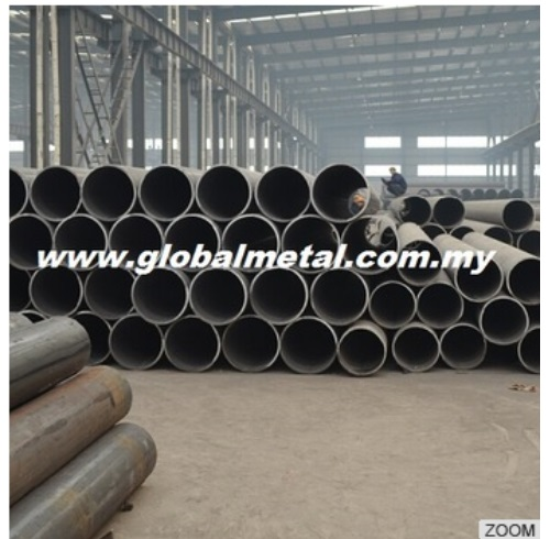 Ready Stock SIRIM and CIDB Mild Steel S275 CHS Circular Hollow Section Pipe by Maker