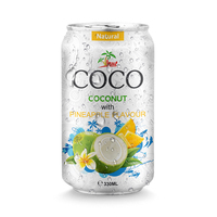 330ml Pineapple Coconut Juice with Pulp