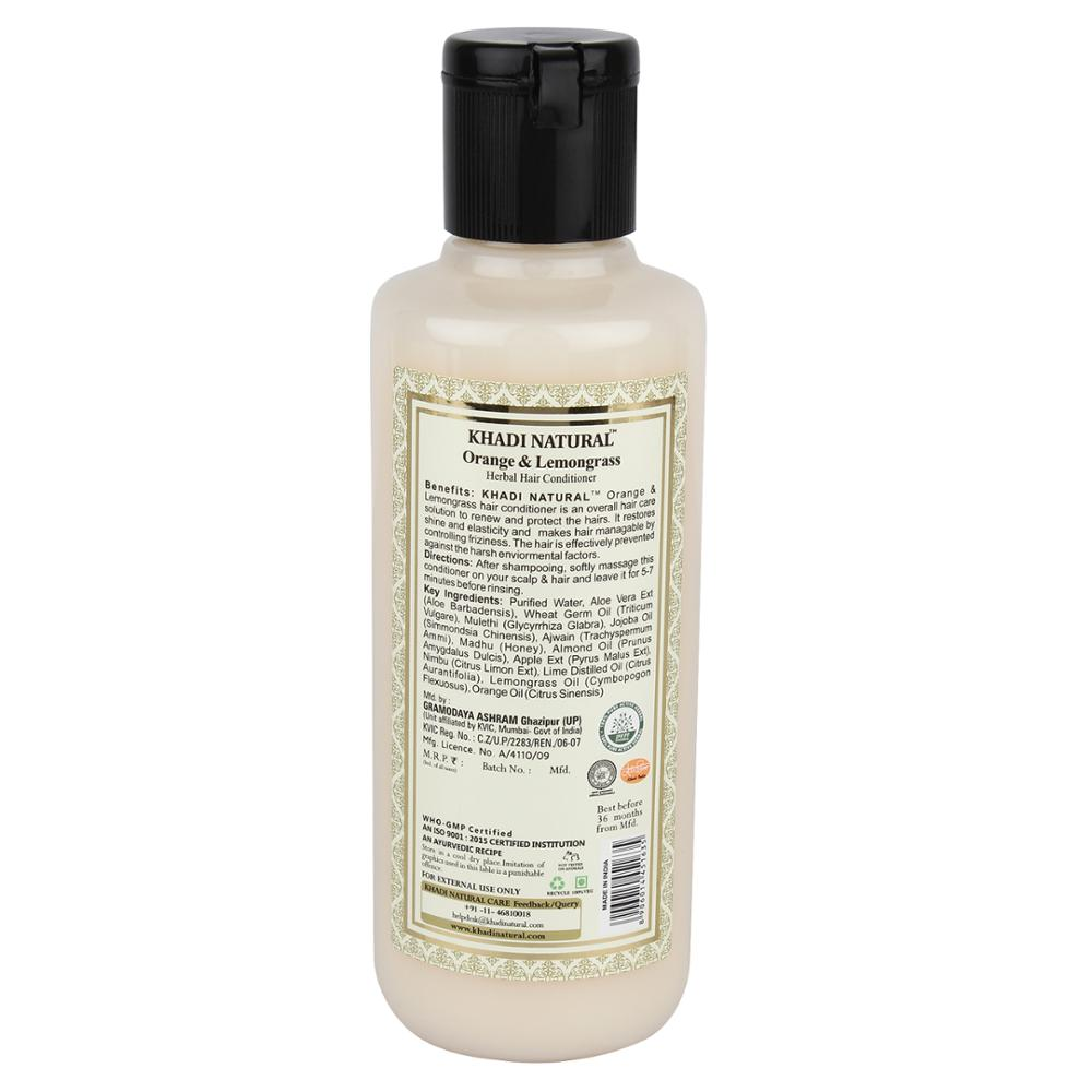 KHADI NATURAL HERBAL ORANGE & LEMONGRASS CONDITIONERS