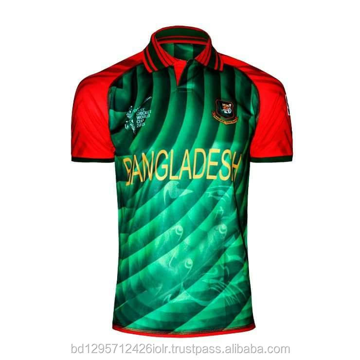 Design Your Team, Low Price, 100% Polyester, Printed Cricket Jersey