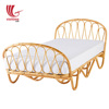 Hot selling cheap rattan bed/wicker furniture made in Vietnam