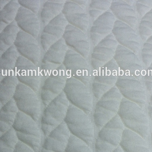 Cotton / Polyester/SPANDEX Jacquard Fabric