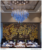 Thai Style Hotel Decoration Mural Art Black and Gold Wallpaper