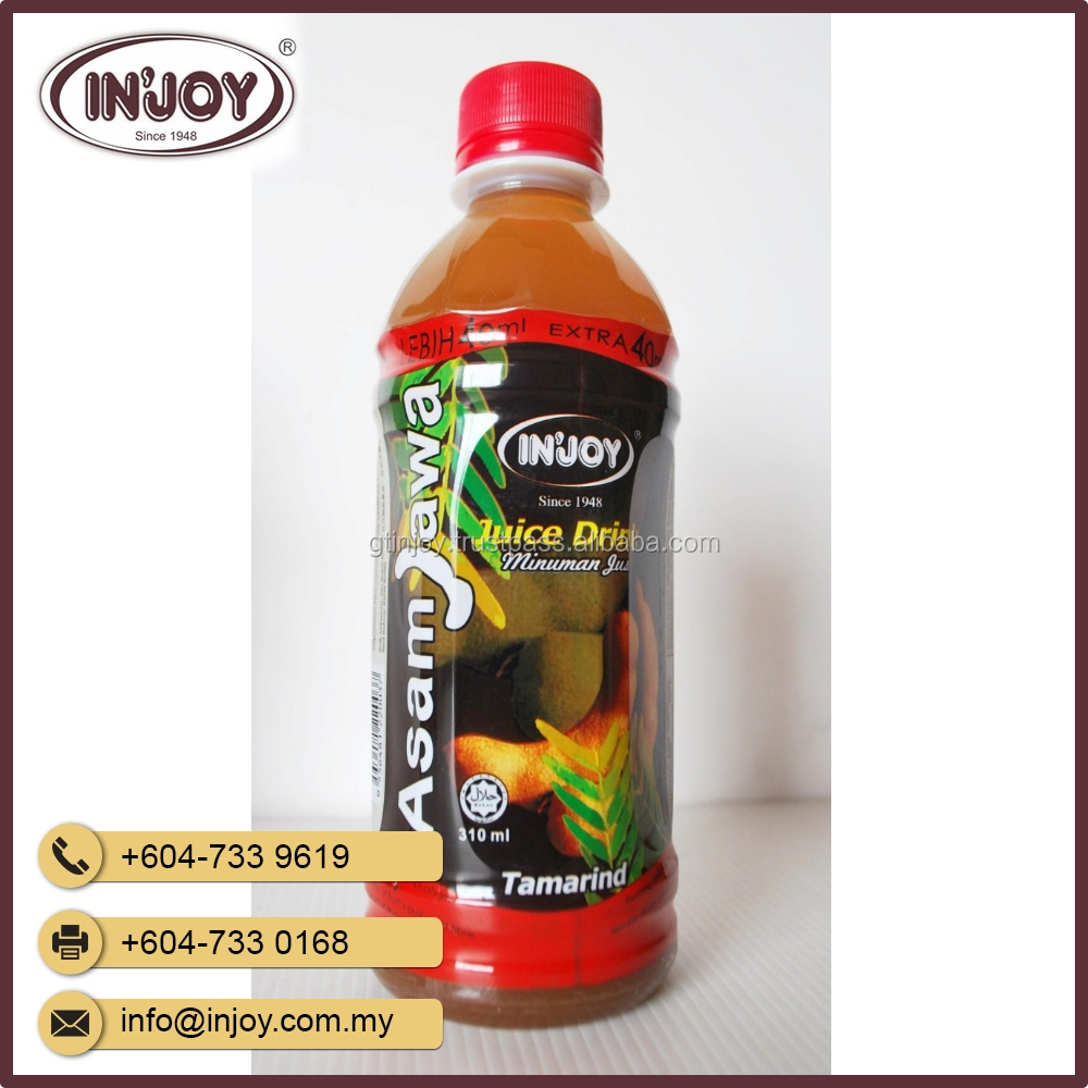 Saga - Asam Jawa Tamarind Fruit Juice Drink from Malaysia