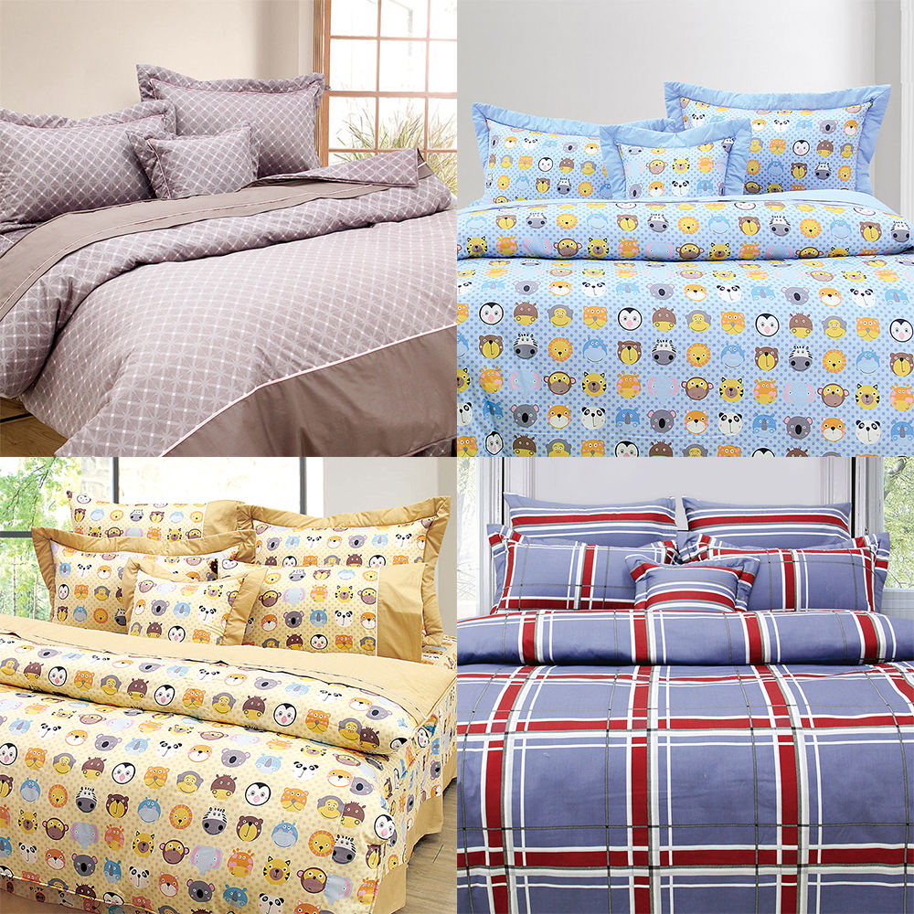 Flannel comforter cover flat fitted duvet cover child bed sheet