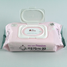 Hot Sale Hypoallergenic Alcohol Free Premium Wet Tissue For Baby