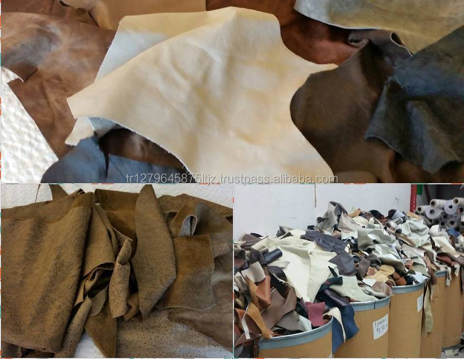 cow crust leather, sheep leather, goat leather