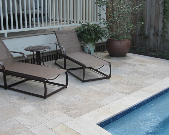 Sun loungers for garden pool patio