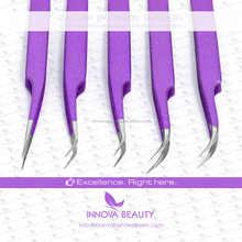 High Quality Color Coated Eyelash Extension Tweezers