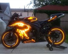 High power 4000W 72V Adult electric motorcycle for sale