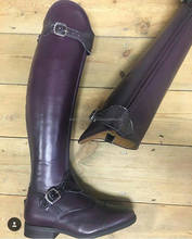Leather Horse Riding Boots for Men's