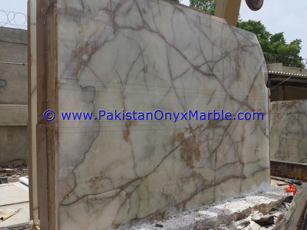 BEST PRICE AFGHAN WHITE ONYX SLABS COLLECTION