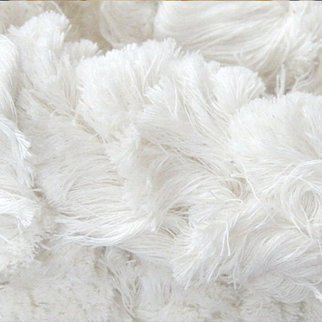 white cotton hosiery waste