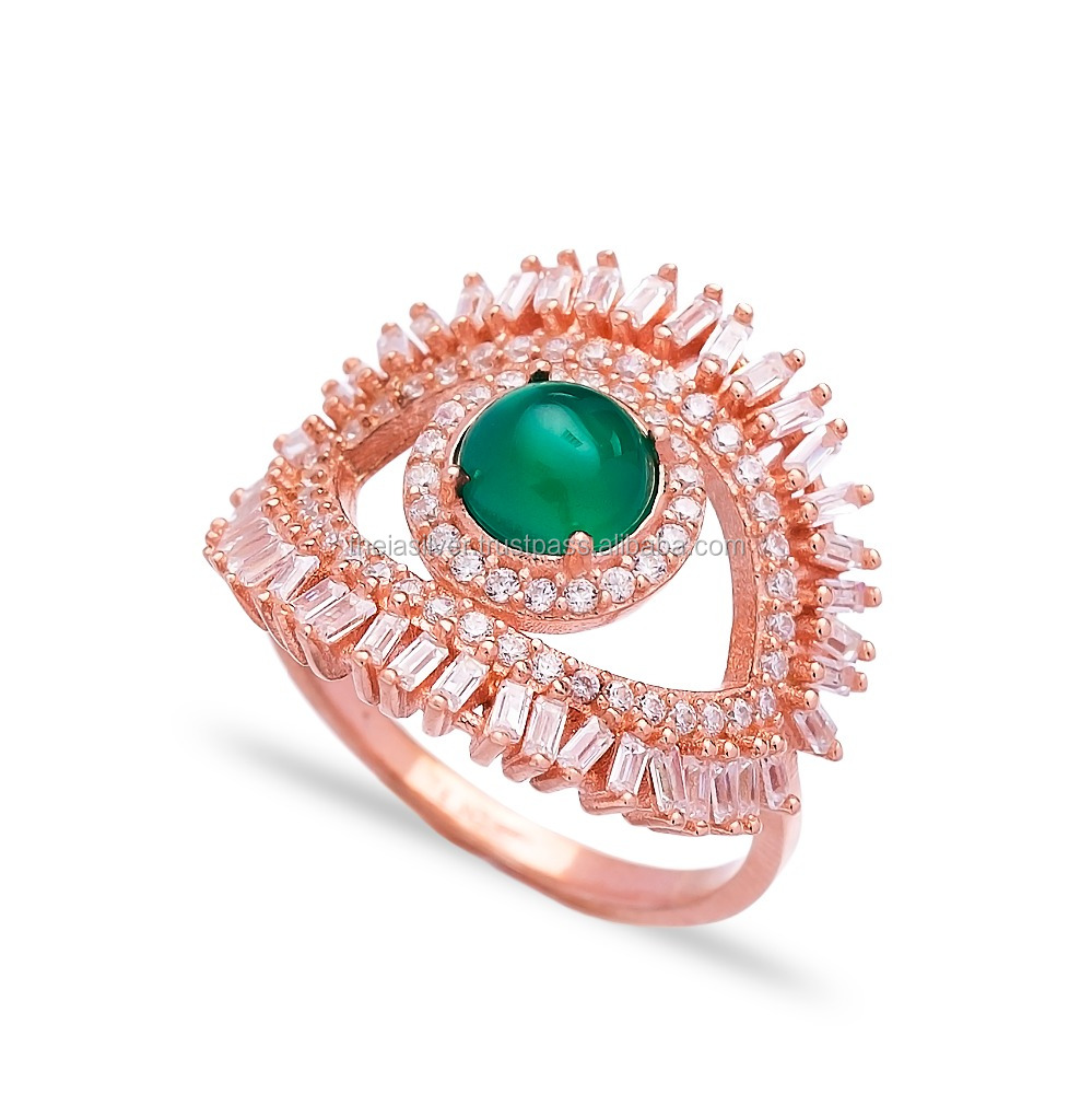 Turkey Emerald Silver Ring, Turkey Emerald Silver Ring Manufacturers ...