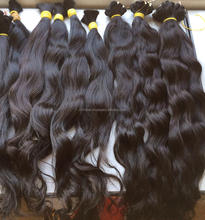 Bulk Stock Cheap !!! Huge Stock Can Be Dyed Raw Virgin Indian human Hair