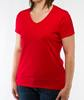 Eco-friendly organic cotton t shirt women casual fit regular use