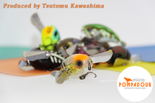 Japan quality topwater Fishing Lure Micro Pompadour