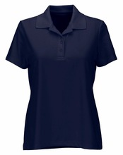 Custom polo t shirts collar available fabric bamboo modal organic cotton Ladies Play Dry Performance Mesh