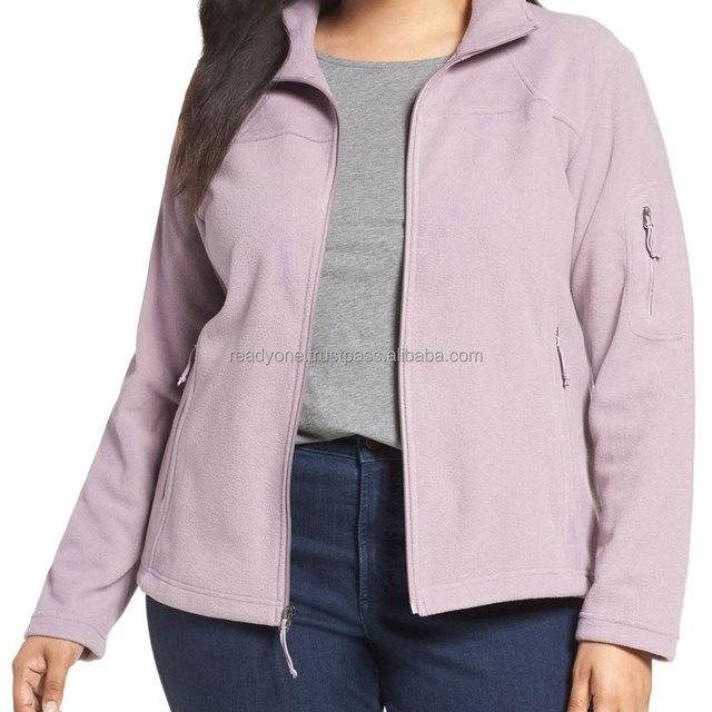 Alibaba China supplier laides polar fleece outdoor women winter jacket 100% polyester