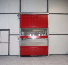 High speed roll up door high speed pvc door industrial roll-up door