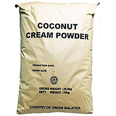 Manufacture Price Malaysia Made Pure Natural High Quality Coconut Cream Powder