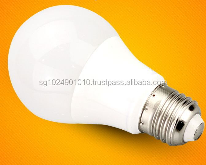 Plastic 560lm E27 7W LED Bulb,Led bulbs A60, high lumen 7W led bulbs A60