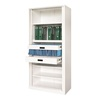 High Quality Tambour Door Steel Filing Storage File Cabinet Malaysia