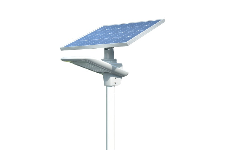 50watt smart solar road light with motion sensor led street lamp
