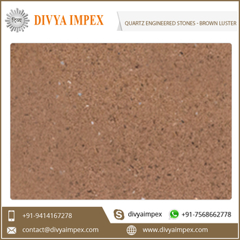 Brown Luster - Quartz Engineered Stones
