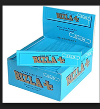 RIZLA CIGARETTE ROLLING (RYO) PAPER PINK 6 BOOKLETS