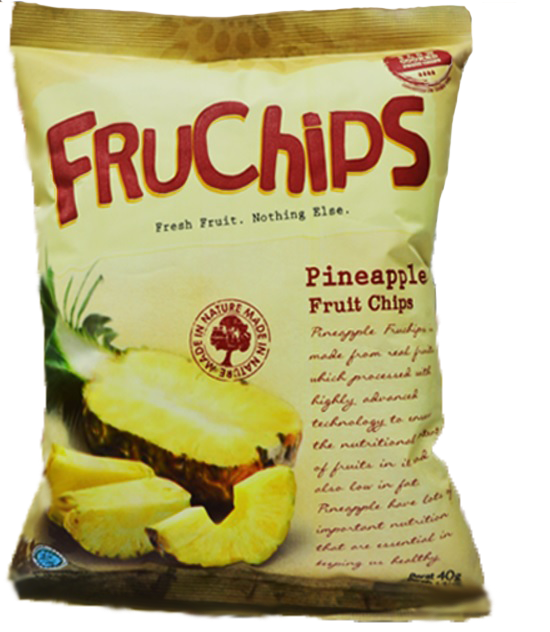 Healthy Snack FRUCHIPS Fruit Chips Pineapple Flavour GPM001